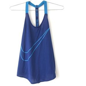 Nike Dry fit racer back tank size M